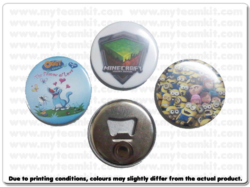 Magnetic Button Badge