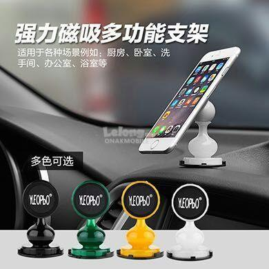 Magnetic Rotary 360 Degree Car Dashboard Phone Stand Holder Magnet