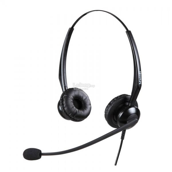 Mairdi Binaural Noise Cancelling Headset 308 with RJ9 Plug (PREORDER)