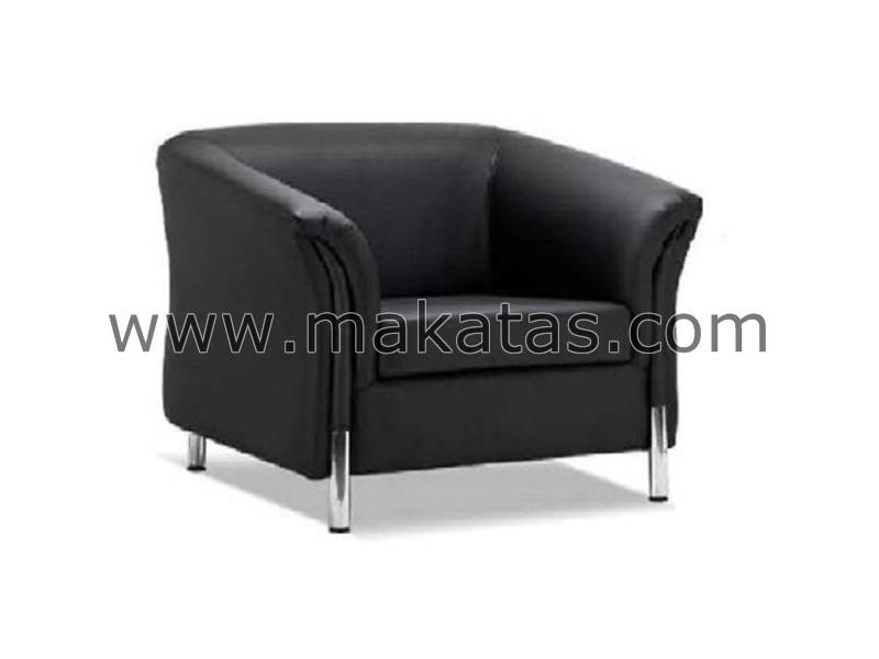 Makatas Berlington Single Seater Sofa Full Leather