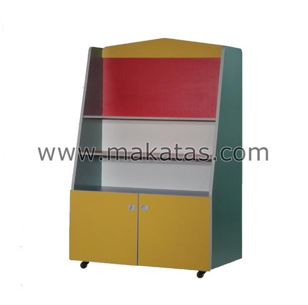 Makatas Double Sided Divider Shelf  (Storage)Wheel