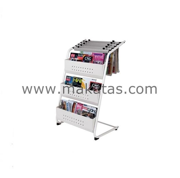 Makatas Newspaper & Magazine Rack