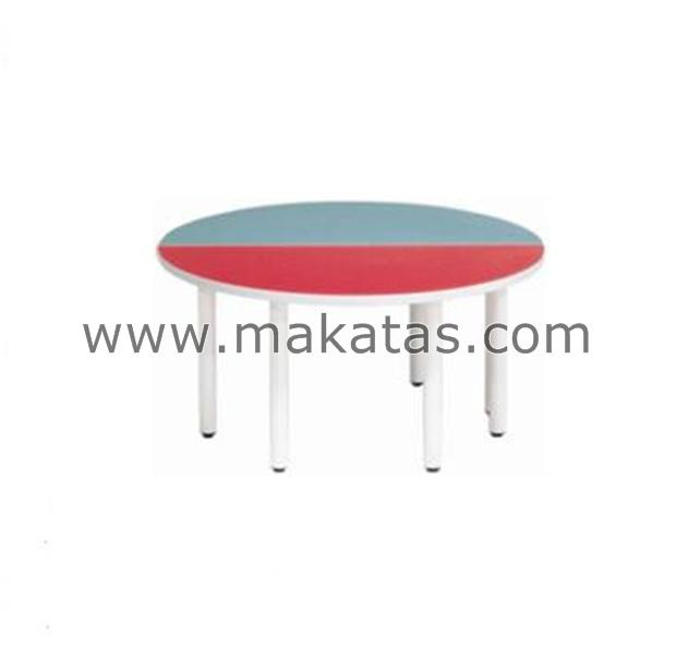 Makatas Semi Round Table