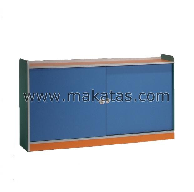 Makatas Sliding Door Book Cabinet