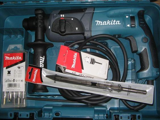 Makita HR2470 3 Mode SDS Plus Rotary Hammer Drill