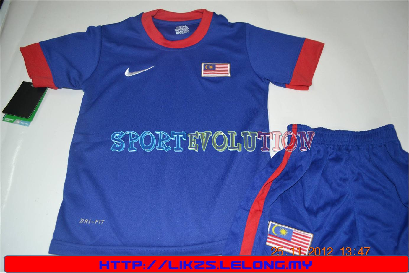 MALAYSIA AWAY  2012-2014 -FOR KIDS SIZE SS/S/M/L/XL -AAA