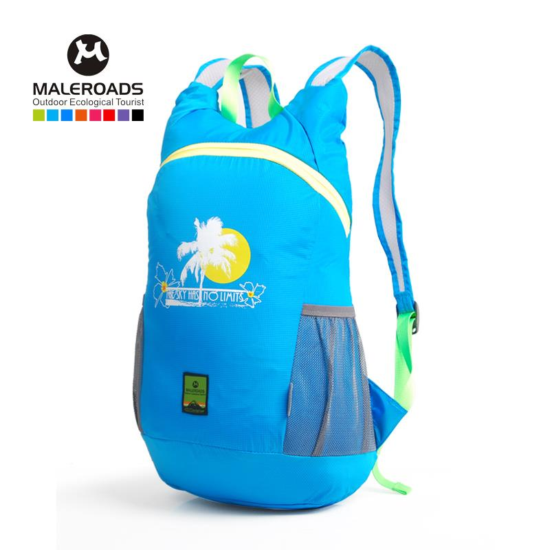 Maleroads ultra-light folding backpack sport Outdoor bag Cycling bags