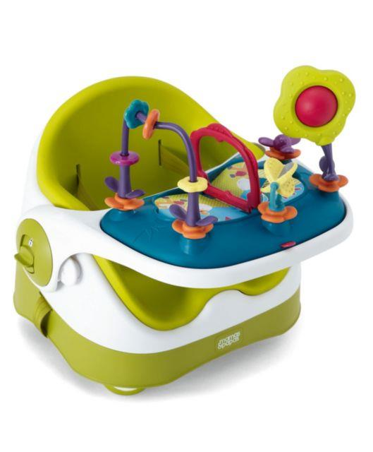 Mamas & Papas Baby Bud Booster Seat w Play Tray - Lime