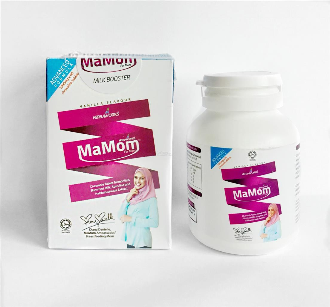 MAMOM MILK BOOSTER™ -100% DIJAMIN ORIGINAL