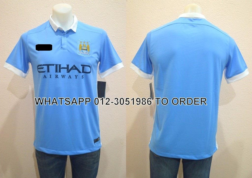 Manchester City Home 2015/2016 Jersey/Jersi