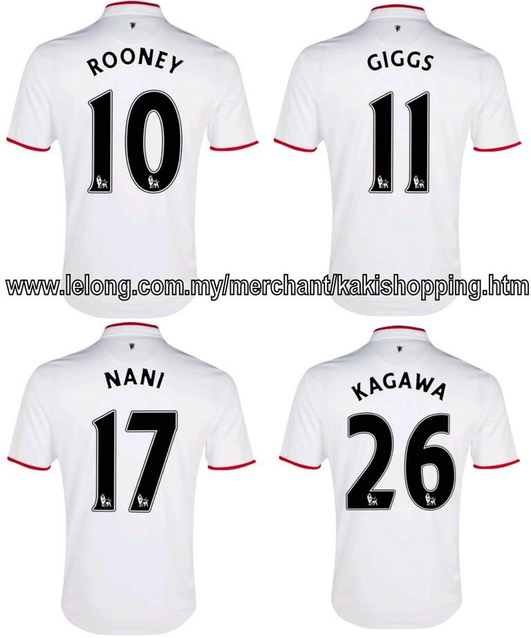 Jersey Numbers of Manchester United Players Jersey Numbers Manchester