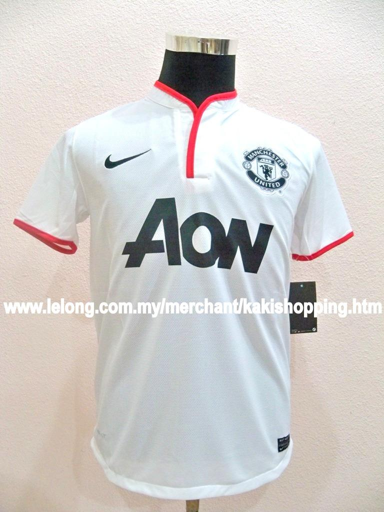 Manchester United Away 2012/2013 Jersey/Jersi- Size S,M,XL