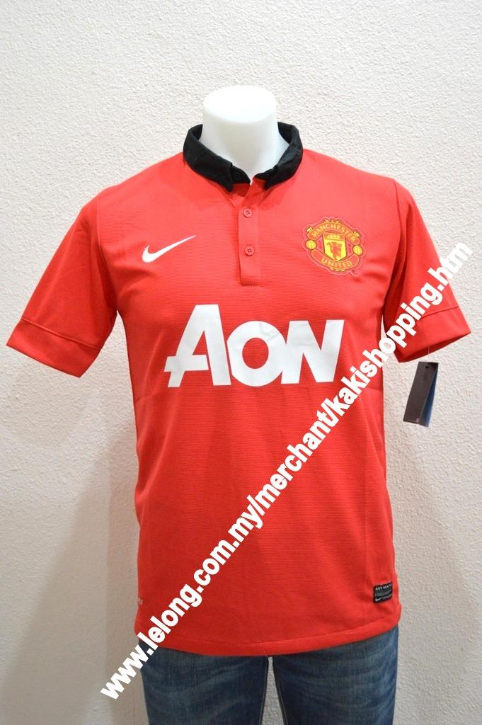 Manchester United FC Home 2013/2014 Jersey/Jersi- SS,S,M,L & XL-Offici
