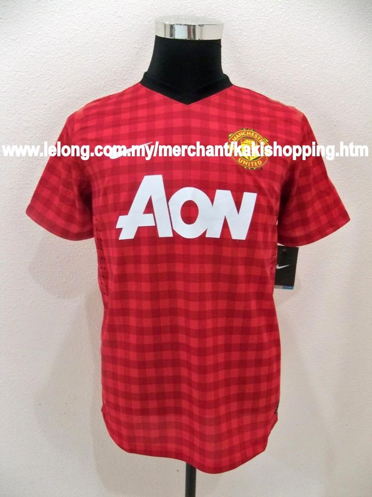 Manchester United Home 2012/2013 Jersey/Jersi-S,M & XL-Player Version