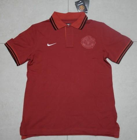MANCHESTER UNITED HOME POLO T-SHIRT 2013/2014 ORIGINAL QUALITY JERSEY