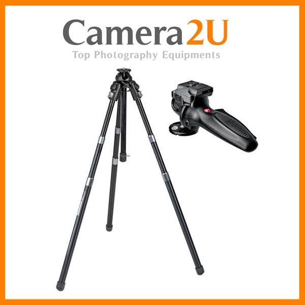 NEW Manfrotto 458B NeoTec Auto Tripod with 327RC2 Head
