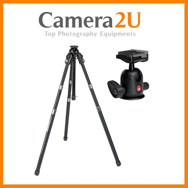 NEW Manfrotto 458B NeoTec Auto Tripod with 496RC2 Head