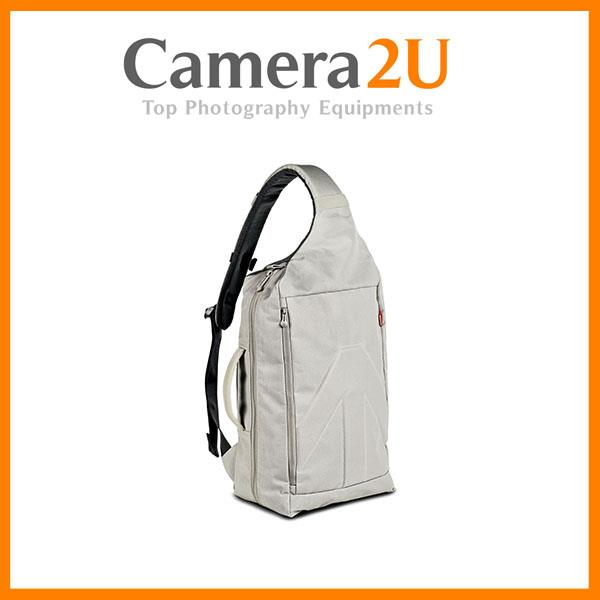 NEW Manfrotto Brio 10 Sling Bag (White)
