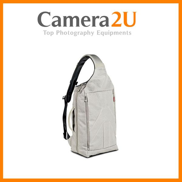 NEW Manfrotto Brio 30 Sling Bag (White)