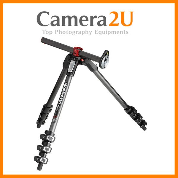 NEW Manfrotto Carbon Fibre Tripod with Horizontal Column MT190CXPRO4