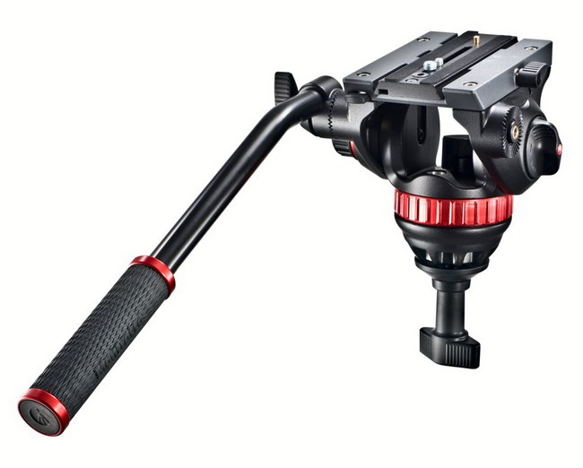 Manfrotto MVH502A PRO Video Head w/ 75mm Half Ball- Free Shipping!!!