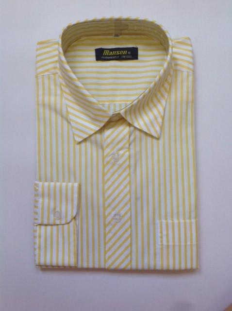 MANSEN 4XL LONG SLEEVE BUSINESS SHIRT 15C4