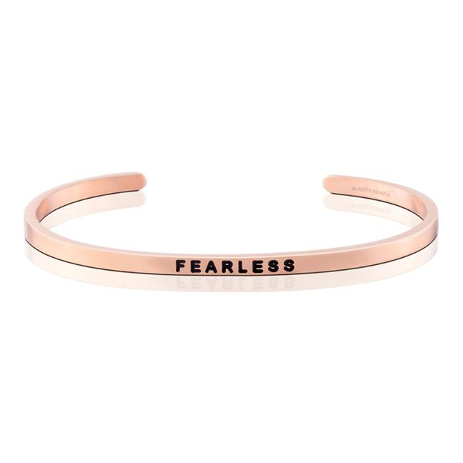 MantraBand Fearless Rose Gold Bracelet
