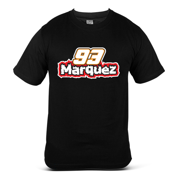 MARC MARQUEZ 93 Sports Racing Motorcycle Rider Professional T-Shirt 0