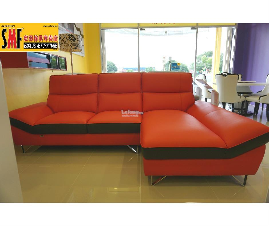 Marcelo l shape rubica leather sofa end 8 16 2017 1 15 pm for L shaped couch name
