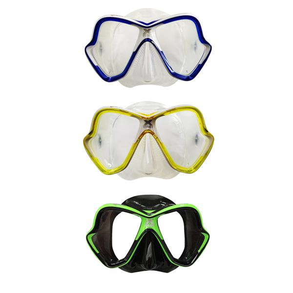 Mares X-Vision Mask BlueWhite (Clear) for Scuba Diving