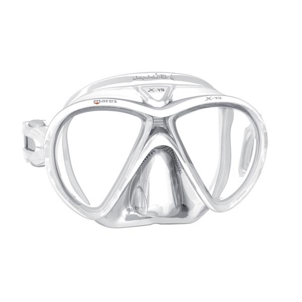 Mares X-VU LiquidSkin Sunrise Dive Mask (White)