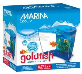 Marina Cool Blue Goldfish Kit - 6.7 L