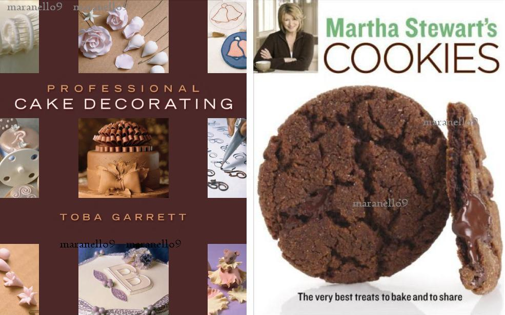 Best Cake Decorating Books For Professionals : Martha Stewart s Cookies + Professio (end 2/14/2018 7:59 AM)