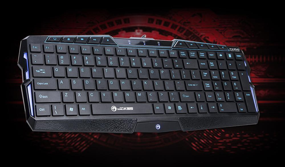 MARVO SCORPION DIABLO GAMING LED MULTIMEDIA KEYBOARD K325 / K825