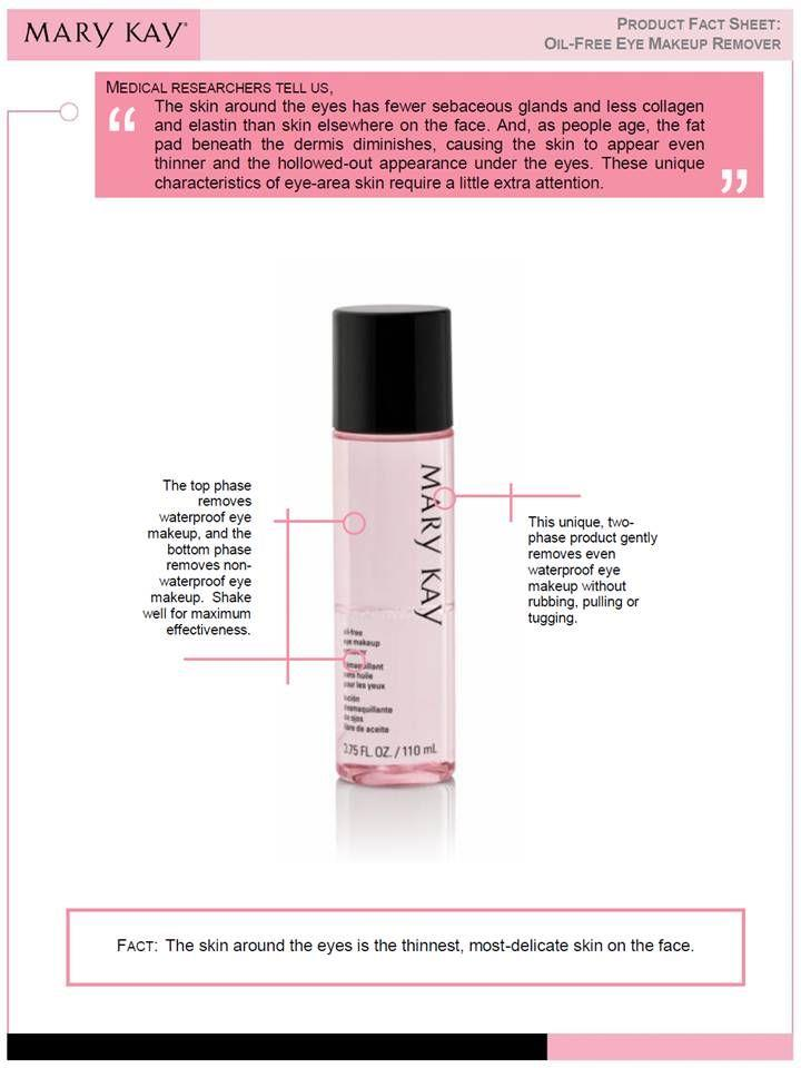 Mary Kay Oil-Free Eye Makeup Remover (110 ml)