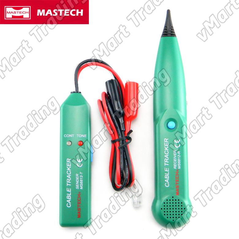 MASTECH MS6812 Tone Generator & Cable / Wire Tracer