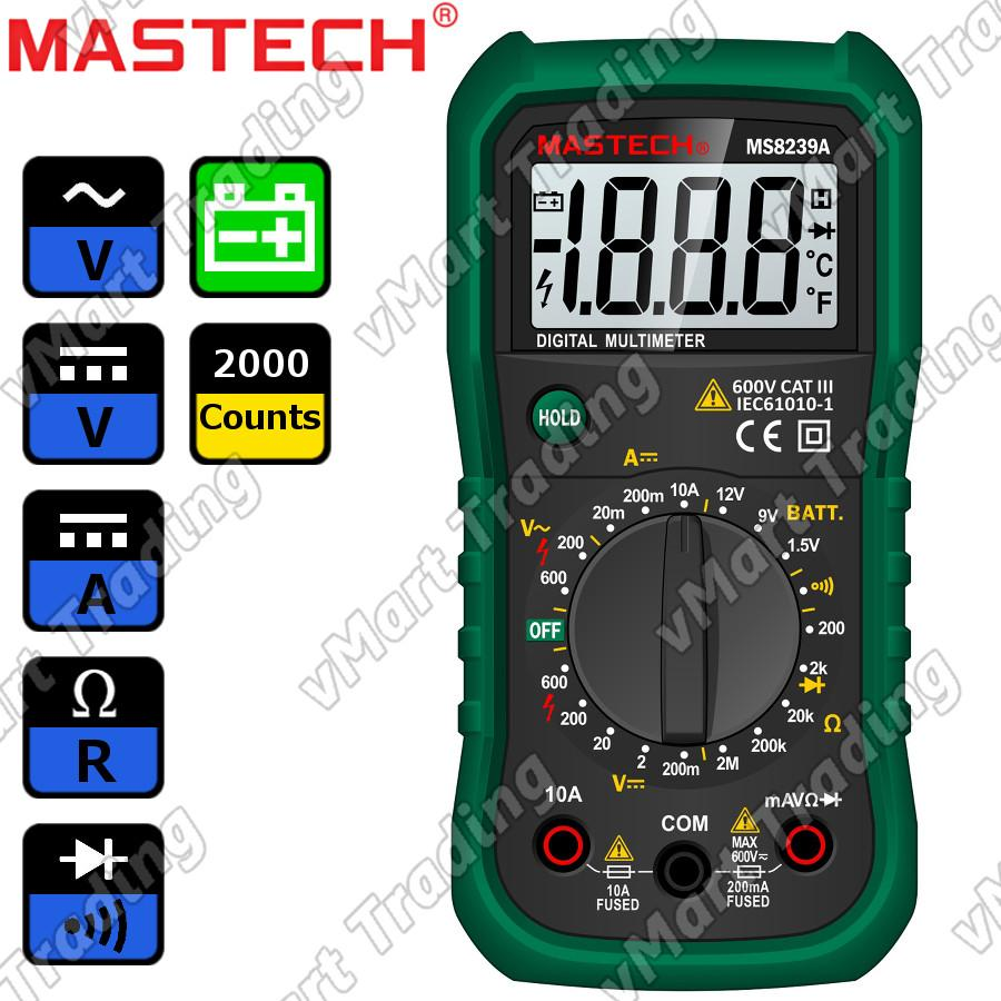 MASTECH MS8239A Digital Multimeter