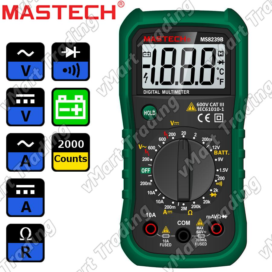 MASTECH MS8239B Digital Multimeter