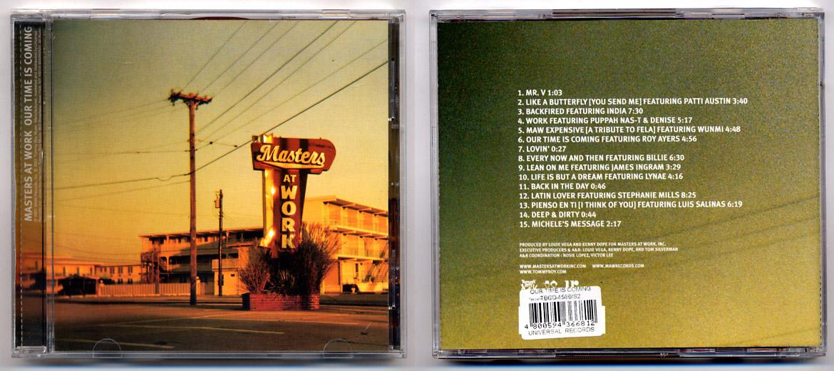 Masters At Work 'Our Time Is Coming' CD