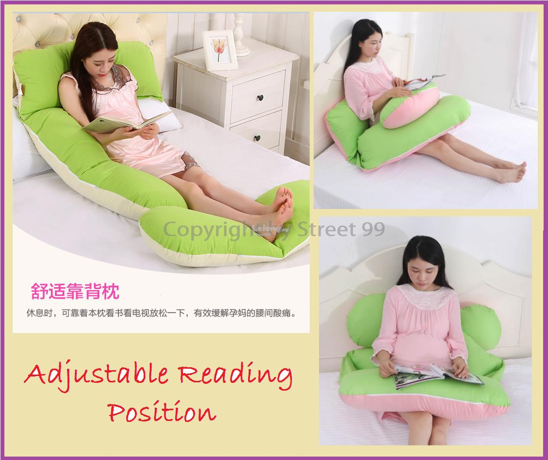 Maternity Pillow Pregnancy Support U Shape Cushion