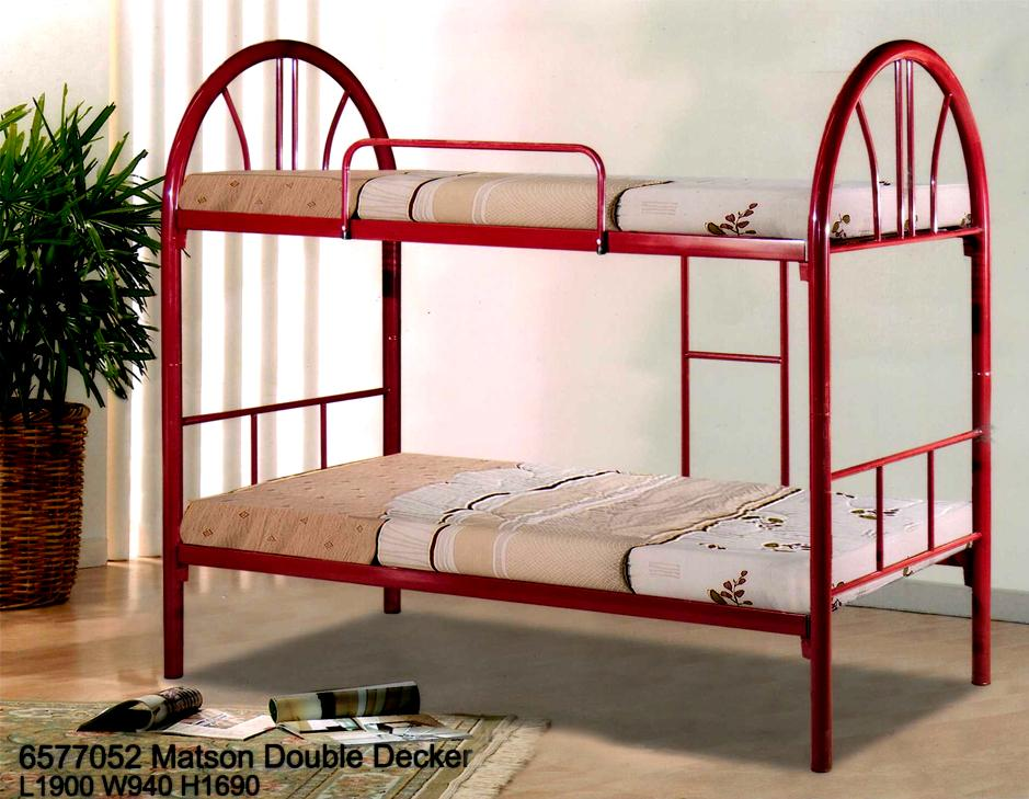 Steel Double Decker Beds : Matson Metal Double Decker Bunk Bed (Selangor, end time 10/28/2014 6 ...