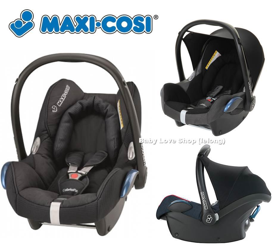 Genuine Maxi Cosi Cabriofix Carrier Car Seat End