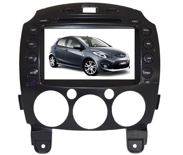 MAZDA 2 DE 2007-2014 DLAA 8' Full HD Double Din GPS DVD MP4 TV Player