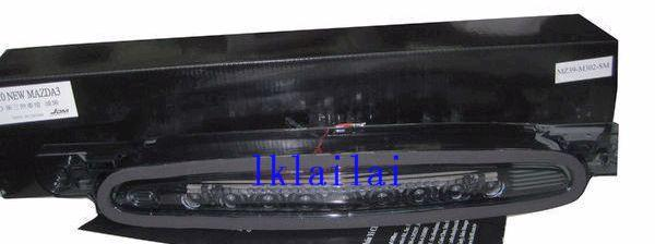 Mazda 3 2010 LED Third Brake Light  / Lamp Smoke/Red