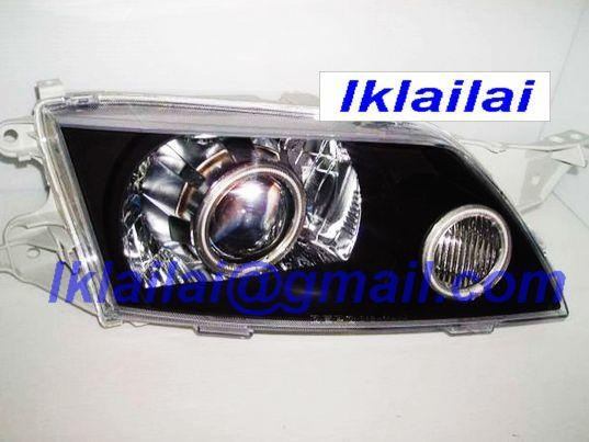 Mazda PREMACY Double CCFL Projector Head Lamp-Black/Chrome Housing