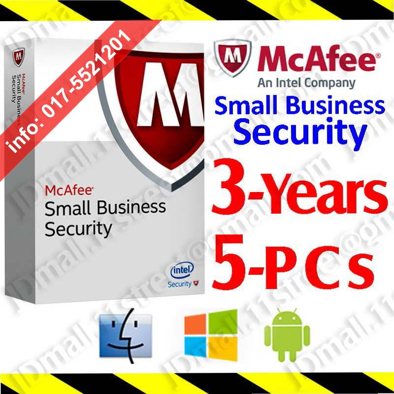 Mcafee Small Business Security 2017 End 11 1 2017 1 15 Am