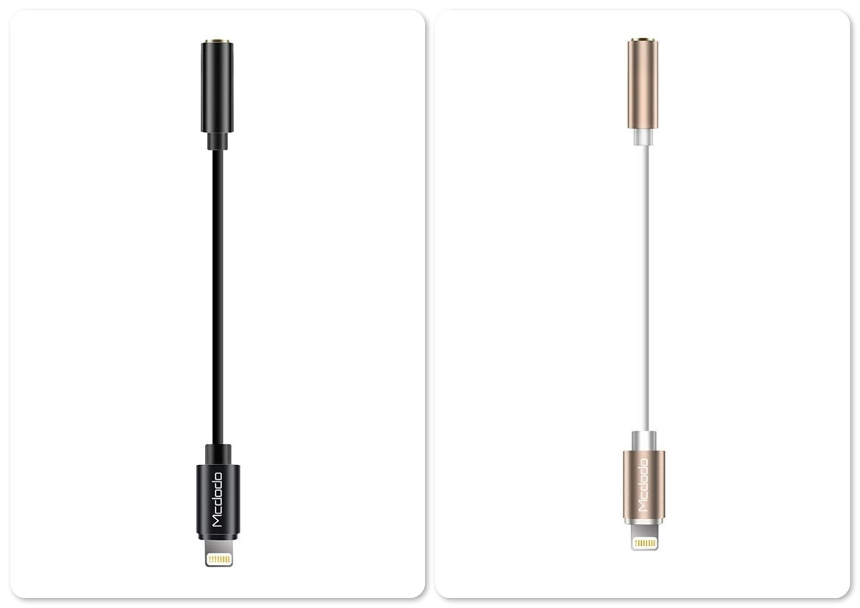 Mcdodo CA-306 Lightning to DC 3.5mm Jack Audio Cable
