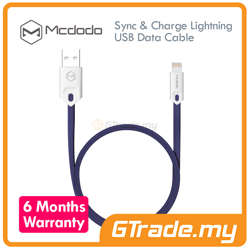 MCDODO USB Lightning Cable 1M BL | Apple iPhone 7 7S Plus