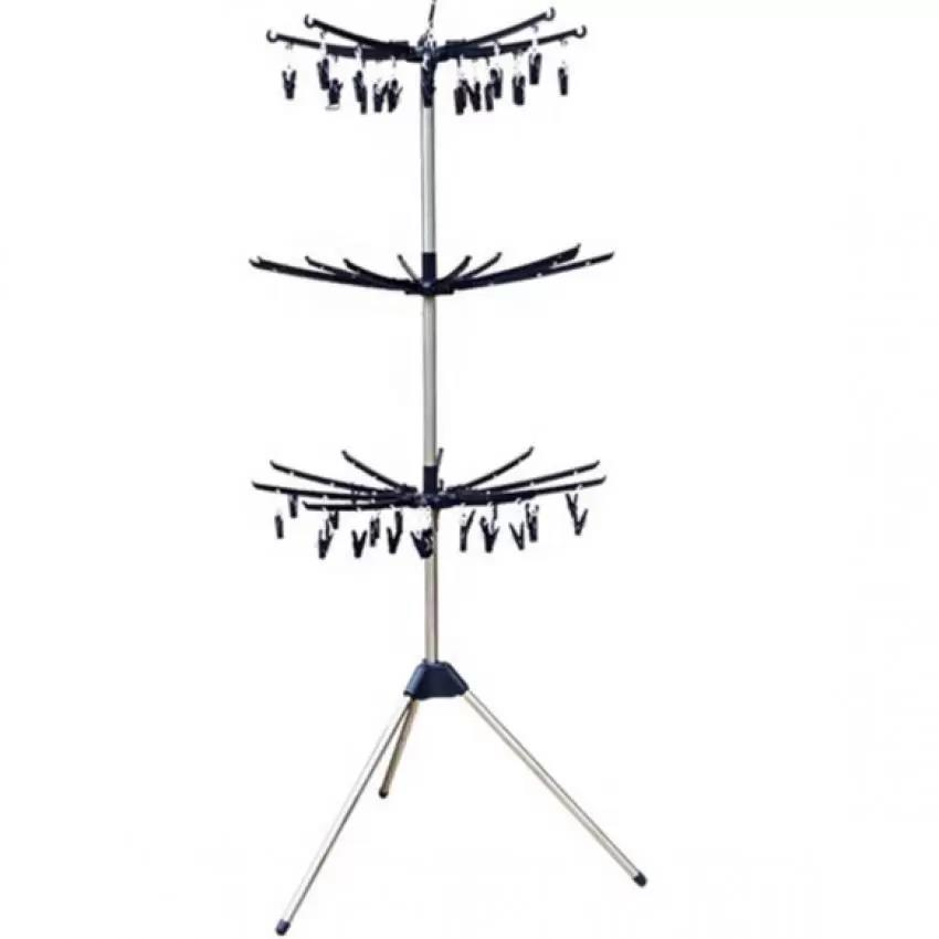 MD9016 3 Tiers Foldable Cloth Hanger & Drying Racks (Outdoor & Indoor)