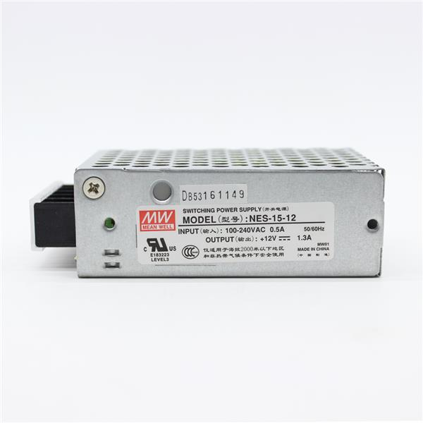 MEANWELL NES-15-12 DC12V 1.3A